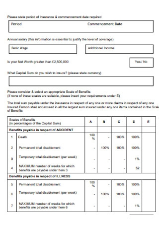 Specialty Group Proposal Form