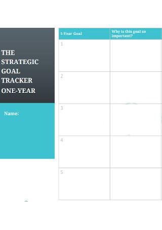 Strategic Goal Traker