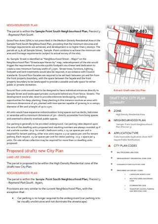 Town Planning Assessment Report