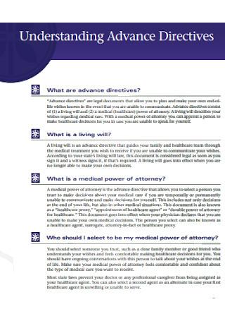 Understanding Advance Directives