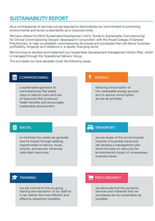 Annual Executive Summary Report
