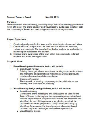 Basic Brand Scope of Work