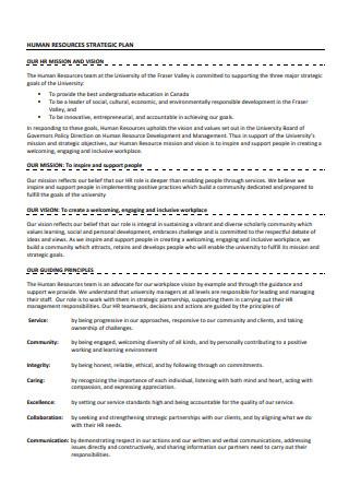 Basic Human Resources Strategic Plan