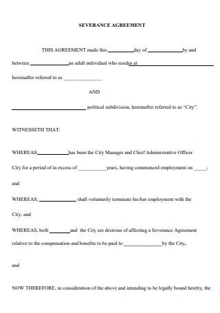 Basic Severance Agreement