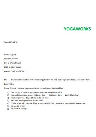 Basic Yoga Business Plan