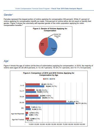 Data Analysis Report Example