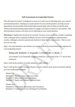 Draft Leadership Assessment