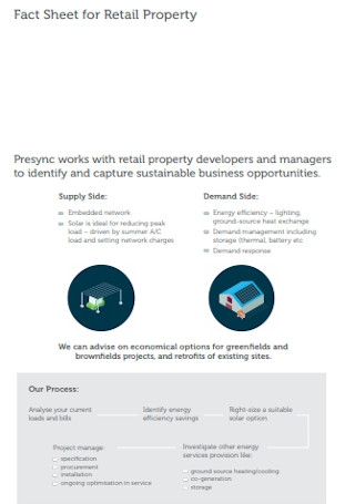Fact Sheet for Retail Property