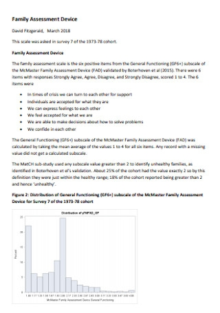 Family Assessment Device Template