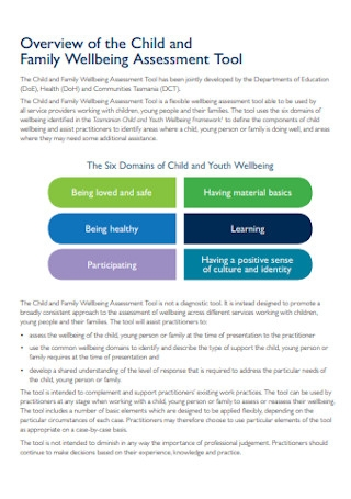 Family Wellbeing Assessment