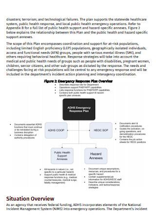 Health Emergecy Response Plan