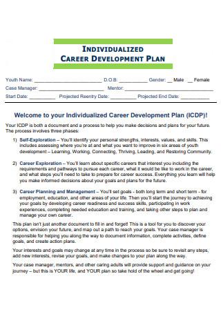 Individualized Career Development Plan