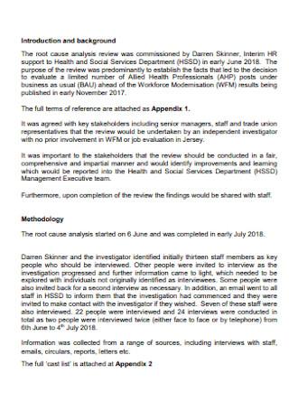 Job Evaluation Analysis Report