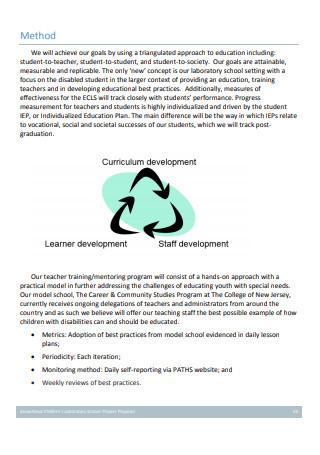 Laboratory School Project Proposal