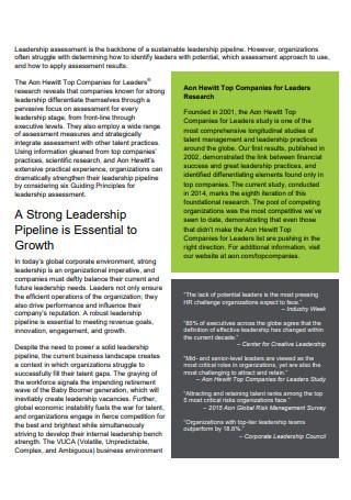 Leadership Assessment in PDF