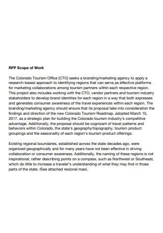 Marketing Agency Scope of Work
