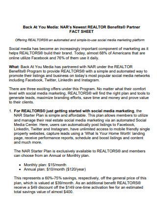 Media Partner Fact Sheet