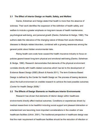 Printable Interior Design Proposal