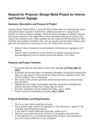 Project Interior Design Proposal