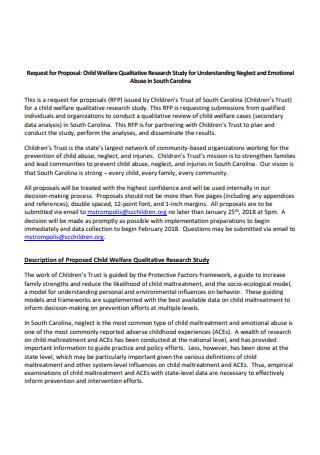 Qualitative Research Proposal in PDF