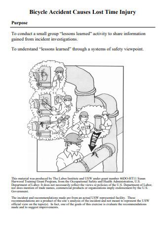 Sample Incident Investigation Report