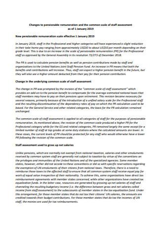Staff Assessment in PDF