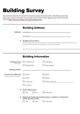 Standard Building Survey