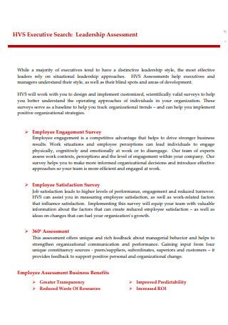Standard Leadership Assessment