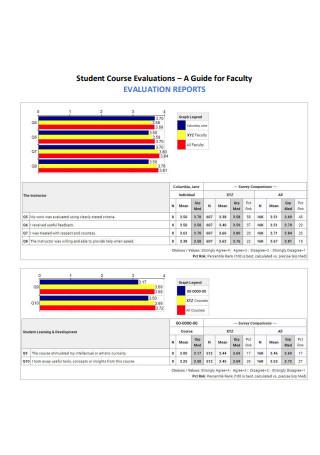 Student Course Evaluation