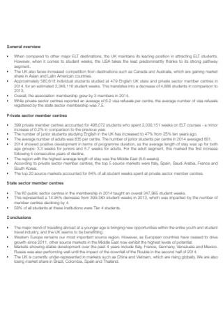Student Executive Summary Report
