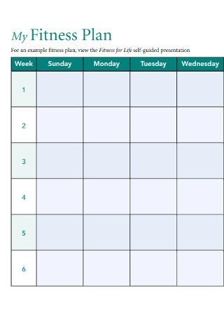 Basic Fitness Plan