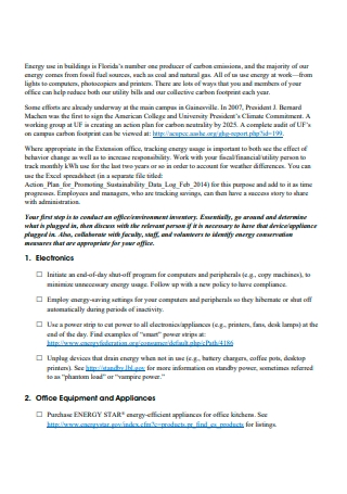 Extension Office Action Plan