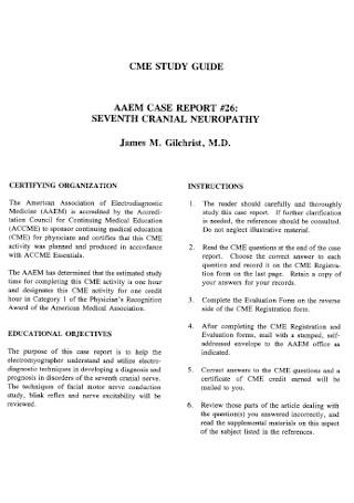 Neuropathy Case Report