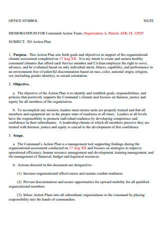 Office Symbol Action Plan