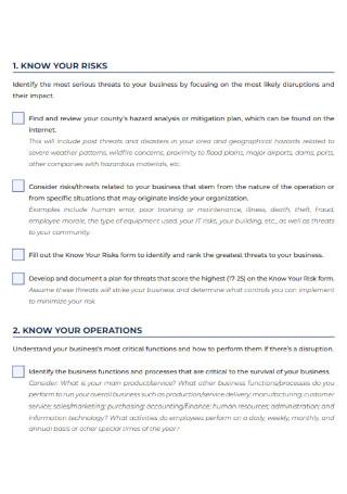 Payroll Master Checklist