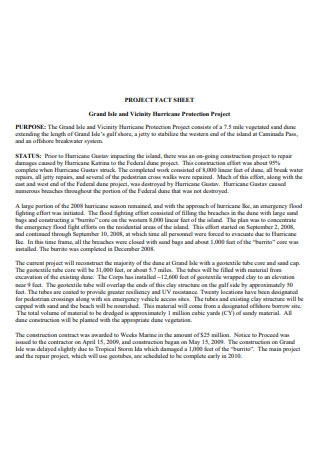 Protection Project Fact Sheet