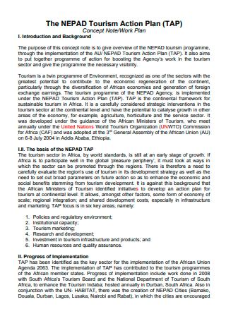Tourism Action Plan in PDF