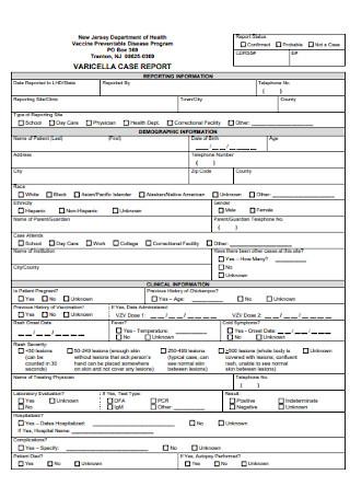 Vericella Case Report