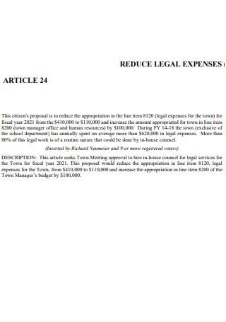 Article24 Citizen Proposal
