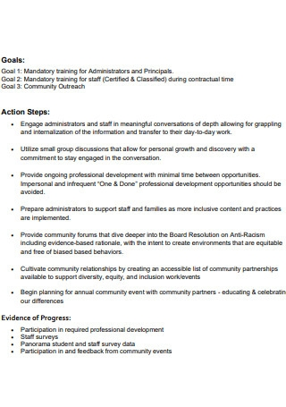 Equity Diversity Action Plan