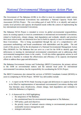 National Environmental Management Action Plan
