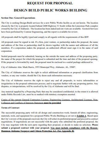 Public Works Building Proposal