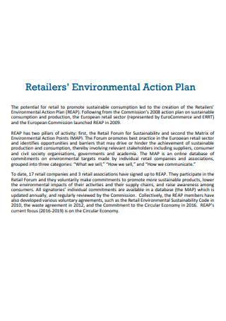 Retailers Environmental Action Plan