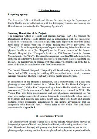 Standard Housing Project Proposal