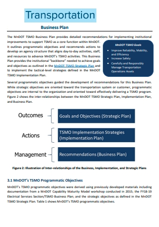Standard Transportation Business Plan