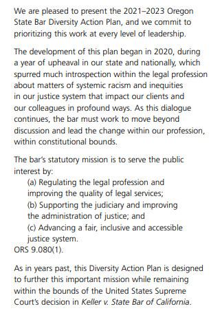 State Bar Diversity Action Plan