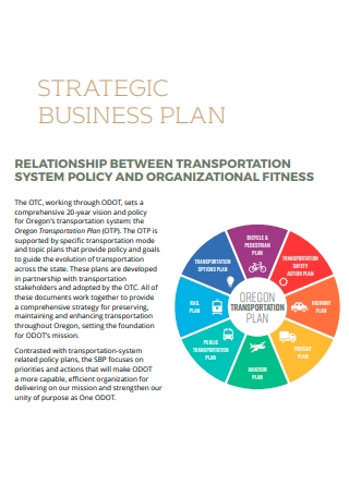 Transportation Strategic Business Plan
