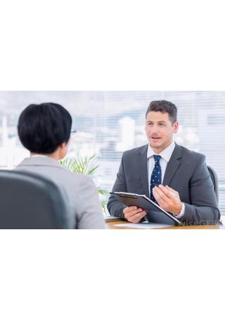 job interview evaluation image