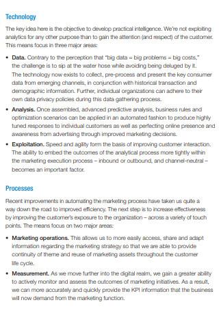 Digital Customer Centric Marketing Strategy