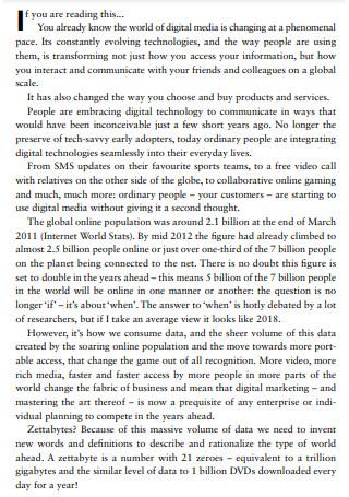 Digital Generation for Marketing Strategy